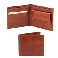 Tuscany Leather TL140761 Leather Wallet for Men - Brown