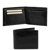 Tuscany Leather TL140763 Leather Wallet for Men - Black
