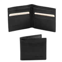 Tuscany Leather TL140797 Leather Wallet for Men - Black