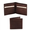 Tuscany Leather TL140797 Leather Wallet for Men - Dark Brown