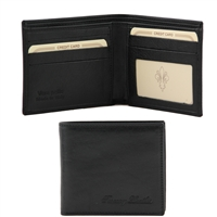 Tuscany Leather TL140778 Leather Wallet for Men - Black