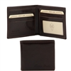Tuscany Leather TL140778 Leather Wallet for Men - Dark Brown