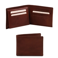 Tuscany Leather TL140760 Leather Wallet for Men - Brown