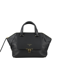 Cuoieria Fiorentina Aria Leather Handbag Small Black