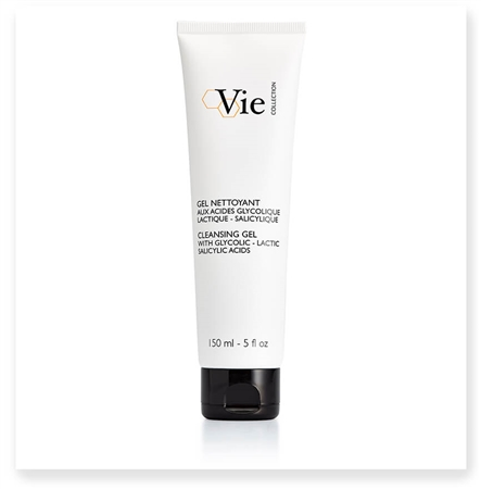 CLEANSING GEL with Glycolic - Lactic -Salicylic Acids