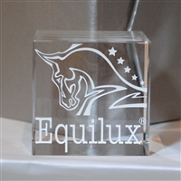 Equilux Crystal Paper Weight