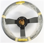 1985 - 1987 Pontiac Firebird TA Trans Am NOS Leather Wrapped Steering Wheel GM # 17983492