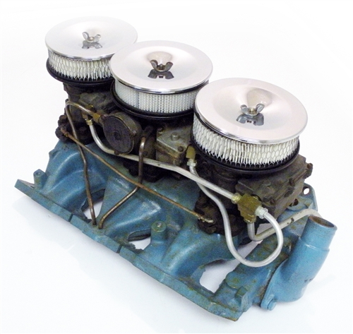 1966 Pontiac 3 Duece Tri Power Intake Set - Original GM