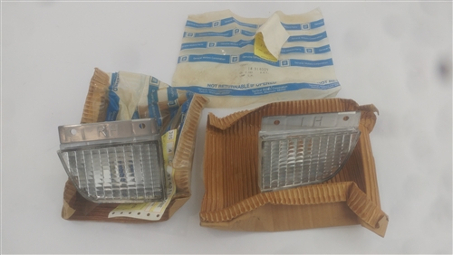 Pair SET 1979-1981 Firebird and Trans Am Grille Set w// fitting kit