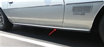 1970 - 1981 Firebird Rocker Panel Trim Molding, 1 Inch Wide