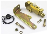 1967 - 1969 Firebird Proportioning Valve and Distribution Splitter Block Combo with Bracket, Front Disc / Rear Drum