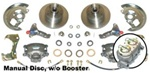 1967 - 1969 Manual Front Disc Brake Conversion Kit