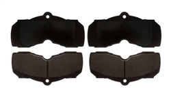 1967 - 1968 Firebird Front Disc Brake Pads Set, Organic for 4 Piston Calipers