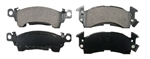 1969 - 1981 Firebird and Trans Am ACDelco Front Disc Brake Pads Set, Ceramic