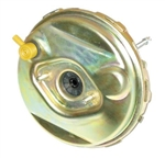 1967 - 1969 Firebird Power Brake Booster , 9 Inch Diameter - Gold Cadium Plating ( WITHOUT STAMP )