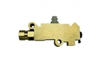 1967 - 1981 Proportioning Valve and Distribution Splitter Block Combo, Disc / Drum