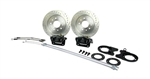 1967-1969 Rear Disc Brake Conversion Kit for Staggered Shock