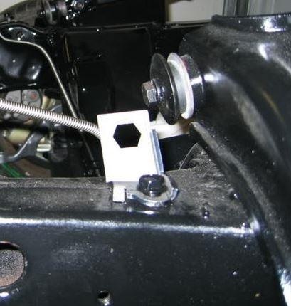 70-81 Disc Brake Master Cylinder Lines Sub Frame Rubber Hose Bracket Clip Clamp