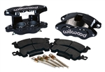1969 - 1981 Firebird Black Powder Coated Wilwood Front Disc Brake D52 Calipers, Kit