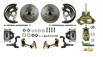 1967 - 1969 Firebird Street Anchors Front Power DISC Brake Conversion Kit