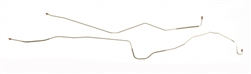 1967 - 1968 Firebird Brake Line, Front to Rear with Disc Brake Conversion