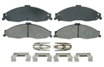 1998 - 2002 Firebird Front Disc Brake Pads Set, OE Semi-Metallic