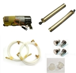 1967 - 1969 Firebird Convertible Power Top Motor Pump, Cylinders, Hoses and Shoulder Bolt Kit