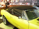 1967 - 1969 Firebird Premium Cloth Convertible Top, Plastic Window,