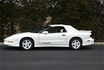 1994 - 2002 Firebird Stayfast Cloth Convertible Top Rear Tinted Glass Window, Window ONLY