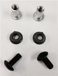 1968 - 1969 Console Housing To Floor Mounting Hardware Set, 6 Pieces