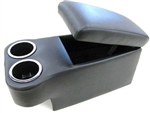 1967 - 1981 Console Assembly with Cup Holders, Custom Console Topper, Choice of Color