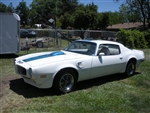 Mike Hasemann 1972 Trans am
