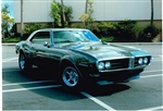 Steve and Janet Reed  1968 Firebird