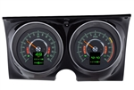 1967 Firebird Dash Instrument Cluster Gauges Set, RTX : Speedometer, Tachometer, Oil Pressure, Water Temp, Voltmeter and Fuel