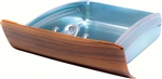1967 - 1968 Firebird Walnut Woodgrain Center Dash Ash Tray, 9789415