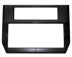1985 - 1992 Firebird and Trans Am Console Dash Radio & Heater Control Face Plate Bezel Trim Panel