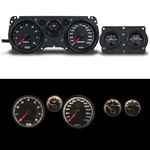 1970 - 1981 Firebird BLACK Performance Series Dash Instrument Cluster Gauge System, Speedometer, Tachometer, Oil Pressure, Water Temp, Voltmeter, Fuel