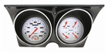 1967 - 1968 Dash Instrument Cluster Housing with Gauges (Velocity White), Custom OE Style