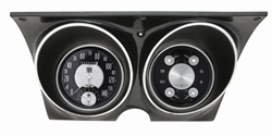 1967 - 1968 Dash Instrument Cluster Housing with Gauges (All American Tradition), Custom OE Style