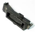 1970 - 1981 Firebird Heater Box Floor Dump Duct, with Air Conditioning 3967989