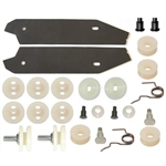 1967 - 1969 Firebird Quarter Window Roller and Hardware Rebuild Kit