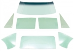 1967 Firebird TINTED COUPE Hardtop Glass Kit, 8 Pieces