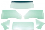 1968 - 1969 Firebird TINTED COUPE Hardtop Glass Kit, 6 Pieces