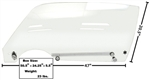 1970 - 1981 Firebird Door Window Glass Kit, Clear, LH Side