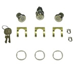 1969 Firebird Door & Trunk Lock Set