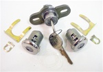 1970-1973 Door Locks and Trunk Lock Set