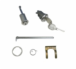 1967 - 1968 Firebird Glove Box and Trunk Lock Set, GM Round Headed Keys