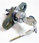 1970 - 1973 Firebird Trunk Lock Set with GM Round Headed Keys