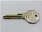 1967 Firebird Key Blank, GM Logo with Octagon Head, OE Style