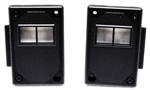 1982 - 1992 Firebird Door Lock Switch Trim Panels, Pair